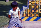 Shoeshine Boy in Central Park, Mexico City